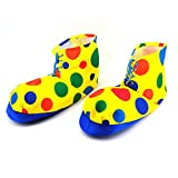Dress Up America Polka Dot Clown Shoe Covers Shoe Cover - Multi-Coloured, One Size