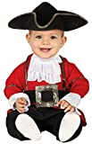 Baby Boys Girls Red Pirate Captain Halloween World Book Day Week Film Fancy Dress Costume Outfit...