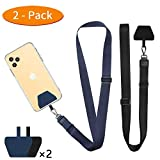 Phone Lanyard Tether, Doormoon Universal Neck Strap with Patch for Phone Case Wallet ID Badge Holder...