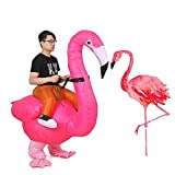 JASHKE Flamingo Inflatable Costume Easter Costumes Adutls Ride On Animal Cosplay Party Carnival...