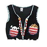 Liontouch 22807LT Pirate Red Stripe Toy Vest For Kids | Part Of A Kid's Costume Line