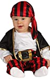 Baby Boys Stripy Pirate Buccaneer TV Book Film Carnival Fancy Dress Costume Outfit 6-24 Months (6-12...