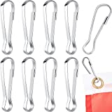 Outus Flag Pole Clip Hooks Stainless Steel Flagpole Accessories for Grommeted Flag, Key Chain,...