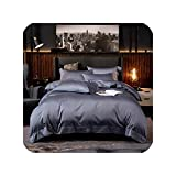 Wild-lOVE White Grey Hotel Quality Silky Soft Egyptian Cotton Bedding set,Color 7,Twin size...