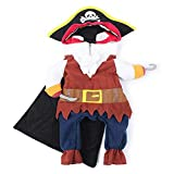 TOORY mural Funny Cat Costumes Pirate Suit Cat Clothes Kitty Kitten Corsair Halloween Costume Puppy...