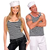 Striped Sailor Shirt Costume for Sea Navy Fancy Dress