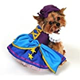 Girl Animal Pet Dog Cat Gypsy Pirate Party Halloween Fancy Dress Costume Outfit XS-XL (Large)