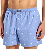 Polo Ralph Lauren Boxers- all over pony Ralph Lauren Boxers Underpants (Small, Sky Blue(White Pony))