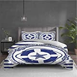 Starfish Pure bedding hotel bed linen Trip Around the World Nautical Emblem with Lifebuoy Starfish...