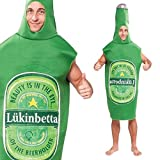 Bristol Novelty AC473 Beer Bottle Costume, One Size