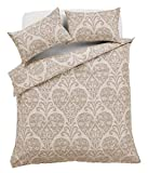 EHD Chloe Gold Luxurious Floral Hearts Pattern Duvet Cover Sets Quilt Cover Sets Reversible Bedding...