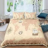 Gvvaceo® Baby Bedding Set Duvet Cover King 220 Cm X 240 Cm + 2 Pillowcases 50 X 75 Cm Creative...