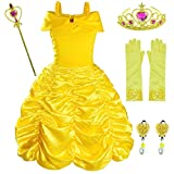 Princess Costume Birthday Party Fancy Dress Up for Girls with...