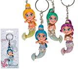OOTB Mermaid keychain - Sold individually - Keyring fancy little figurine