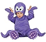 Baby Girls Boys Purple Octopus Sea Creature Fancy Dress Costume Outfit 6-12-24 months (12-24 months)