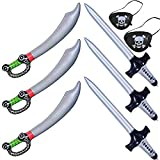 Caribbean Pirates Inflatables Swords Knifes Stick Balloons For Halloween Pirate Theme Costume Props...