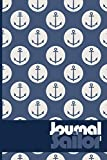 Sailor Journal: Blank Lined Journal For Sailors men's and women's