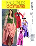 McCall's 5497 Costume Sewing Pattern Gypsy Devil Pirate Dress Size 6 - 8 - 10 - 12 by McCall's