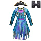 Uma Deluxe Girls Movie Character Cosplay Costume with Hat & Gloves Suit Halloween Party Funny...