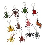 MagiDeal 12pcs Assorted Pendant Keychain Charm Keyring Holder Novelty Gifts #3