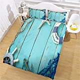 ZPOEQW Duvet Covers Double Bed 200X200Cm 3 Pcs Ultra Soft Hypoallergenic Microfiber Baby Double Bed...