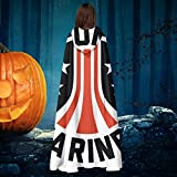 AISFGBJ Aliens Colonial Marines Unisex Christmas Halloween Witch Knight Hooded Robe Vampires Cape...