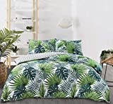 Night Comfort Cotton Blend Eco Breathable Duvet Cover Bedding Set With Pillowcases (King, Wesley -...