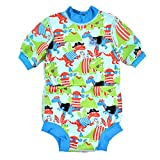 Splash About Baby Happy Nappy Wetsuit, Multicoloured(Dino Pirates), X Large (12-24 Months)