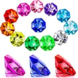 30 Pieces Acrylic Diamond Gems Jewels Pirate Gems Set Treasure Jewels Chest Hunt Party Favors, 25...