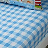 Bedlam 'Patch Seaside' Childrens Fitted Sheet, Junior
