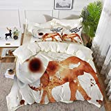 bedding - Duvet Cover Set ,Anchor,Nautical Sea Inspired Abstract Bubble Like Shapes Retro...