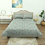 Dodunstyle Duvet Cover,Nautical Nursery Theme Cartoonish Stylized Different Seashells and Starfish...