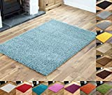 Everest 5cm Thick Pile Shaggy Modern Area Rugs Small to Large Rugs Floor Living Room Hall Bedroom...