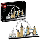 LEGO 21034 Architecture Skyline Model Building Set, London Eye, Big Ben, Tower Bridge Co...