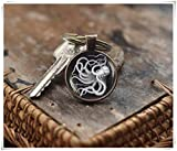 we are Forever family Vintage Octopus Keychain, Octopus Keychain, Octopus Jewelry, Sea Life...