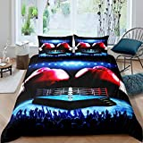 Boxing Gloves Pattern Bedding Set Sports Theme Comforter Cover for Kids Boys Girls Teens Boxing...