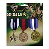 Bristol Novelty BA584 Military Medal, Mens, One Size