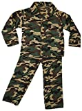 Quickdraw Girls Boys Dress Up Role Play Childrens Kids Party Outfit Fancy Dress (Army Soldier...