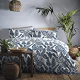 Dreams & Drapes - Tahiti - Easy Care Duvet Cover Set - Double Bed Size in Blue