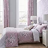 Catherine Lansfield Canterbury Easy Care Single Duvet Set Heather