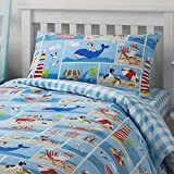 Bedlam 'Patch Seaside' Childrens Duvet Cover Set, Single