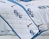 Nimsay Home Beachcomber Nautical 100% Cotton Quilted Bedspread 265 x 265 cm