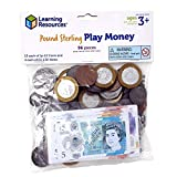 Learning Resources (UK Direct Account) LSP2629MUK Pound Sterling Play Money for Kids UK Toy Pack,...
