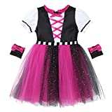 CHICTRY Infant Baby Girls Pirate Girl Costume Princess Halloween Cosplay Party Fancy Dress up...
