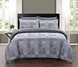 Indus Textiles 100% Pure Cotton Reversible Patterned Duvet Cover Sets (Marrocoas, Double)
