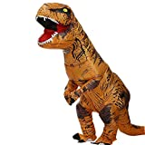 Zi Xi & Zi Qi T-Rex Inflatable Dinosaur Mascot Party Costume Fancy Dress Cosplay Outfit Adult...