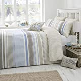 FAHBE21PHD- Falmouth - Easy Care Duvet Cover Set - Double, Blue
