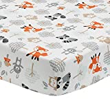 Bedtime Originals Woodland Friends Fitted Crib Sheet, Multicolor