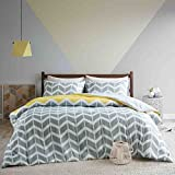 SCM Nadia Double Duvet covers set , Fashion Chevron Printed Duvet Cover and Pillowcase Set, Luxury...