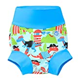 Splash About Baby Kid's New Improved Happy Nappy,Multicoloured(Dino Pirates),3-6 months